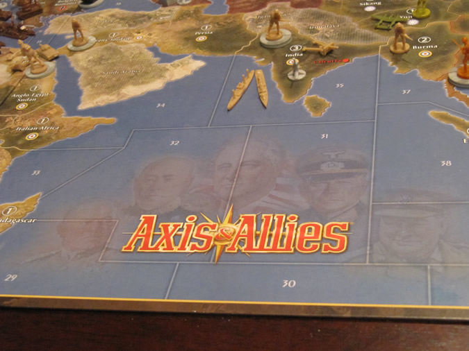 Axis & Allies Anniversary: The 6 Powers