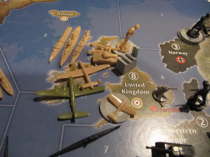 Axis & Allies Anniversary: UK Setup - 1942
