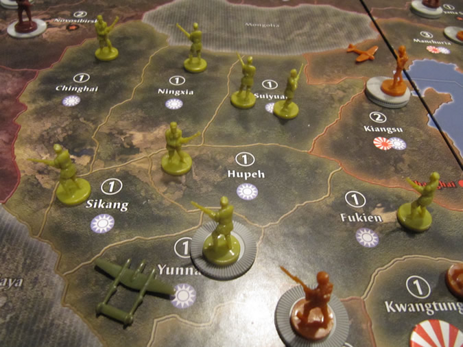 Axis & Allies Anniversary: China - 1942
