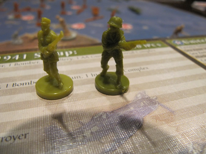 Axis & Allies Anniversary: US & China Infantry