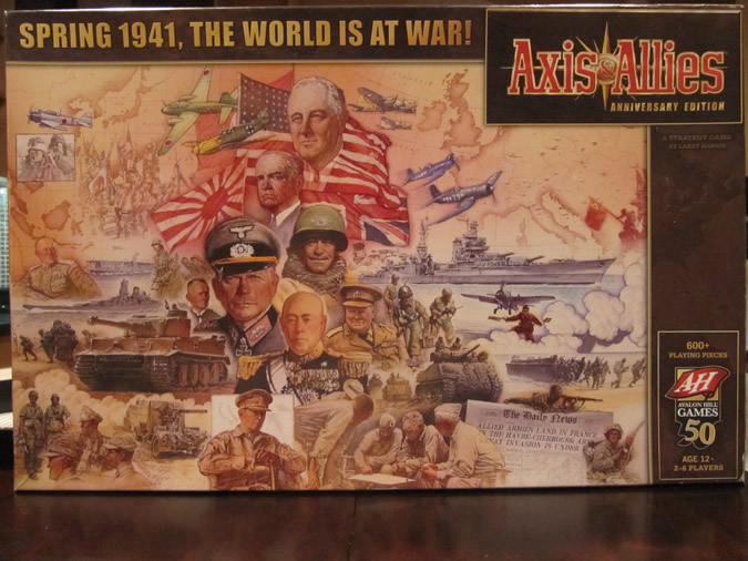 Axis & Allies Anniversary: Game Box