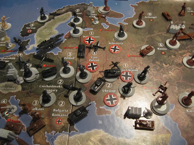 Axis & Allies Anniversary: German Setup for 1942
