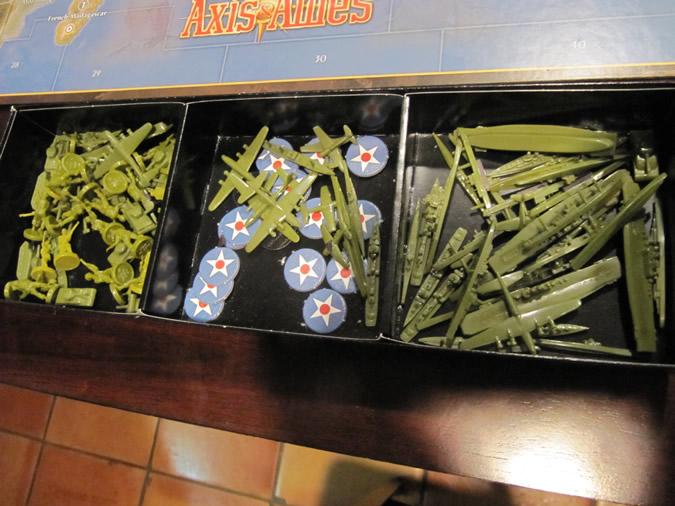 Axis & Allies Anniversary: Inside Game Box