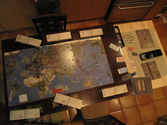 Axis & Allies Anniversary: Open Game Board