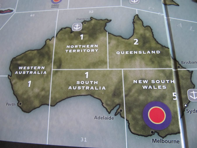 Axis & Allies Pacific: Australia