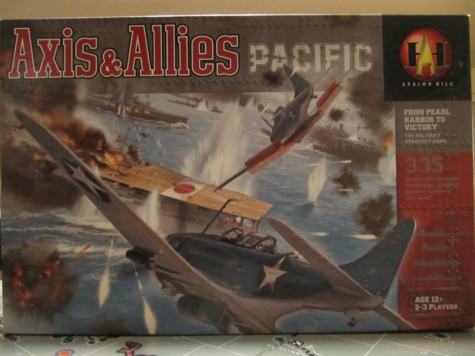 Axis & Allies Pacific: Game Box