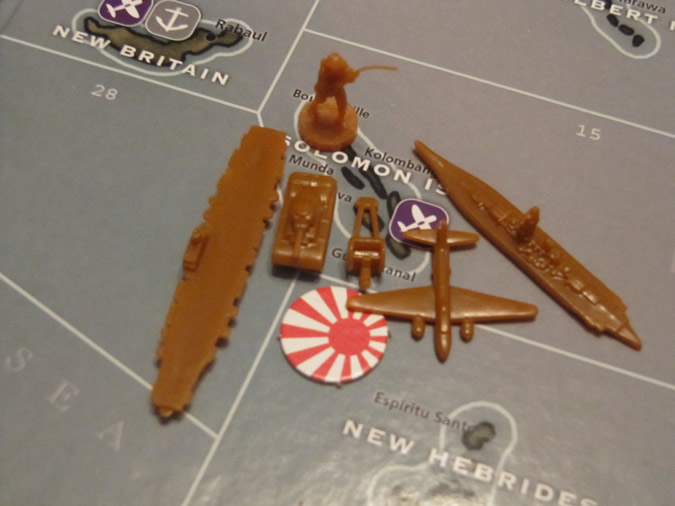 Axis & Allies Pacific: Japan pieces