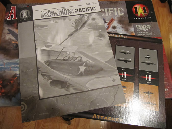 Axis & Allies Pacific: Rule Book and More