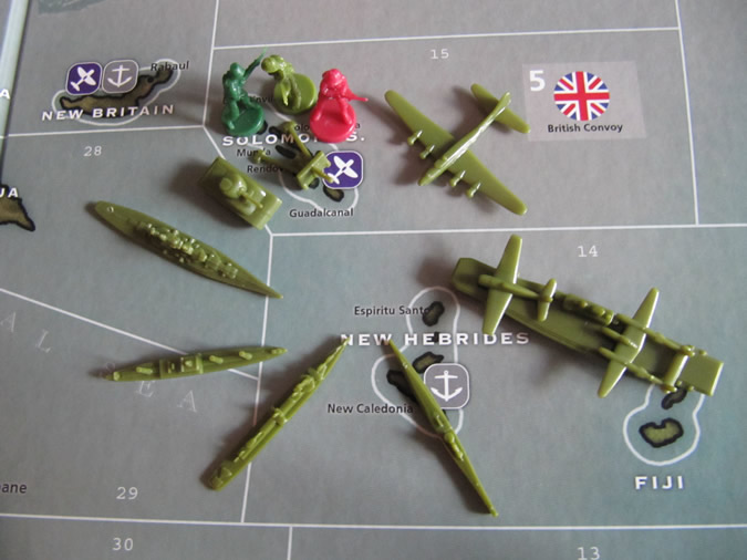 Axis & Allies Pacific: USA Units