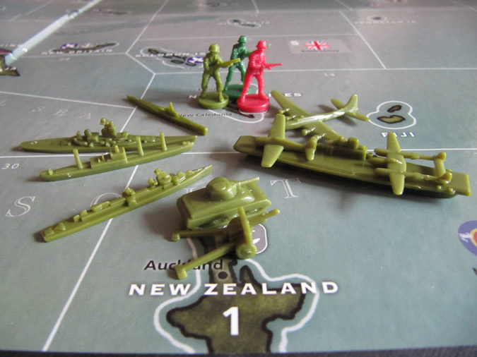 Axis & Allies Pacific: American Units