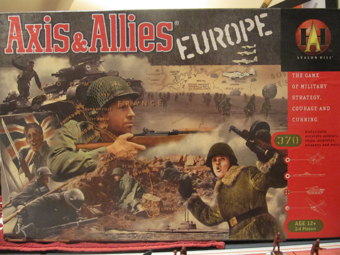 Axis & Allies Europe Game Box