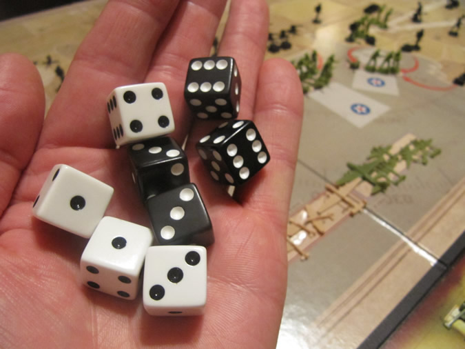 Axis & Allies D-Day Dice