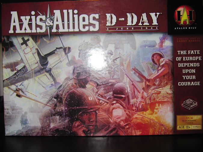 Axis & Allies D-Day Box Cover