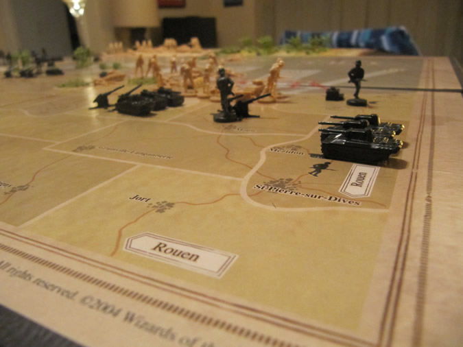 Axis & Allies D-Day - German land units