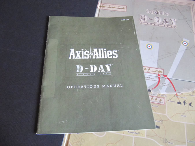 Axis & Allies D-Day Rule Book