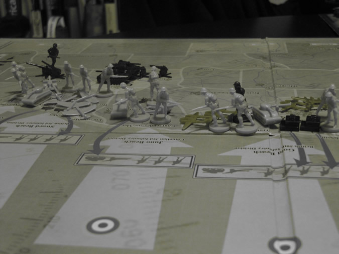 Axis & Allies D-Day: UK/USA Landed
