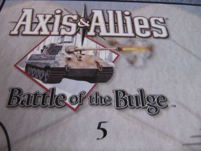 Axis & Allies Battle of the Bulge