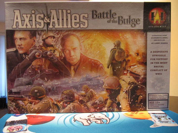 Axis & Allies Battle of the Bulge - Game Box
