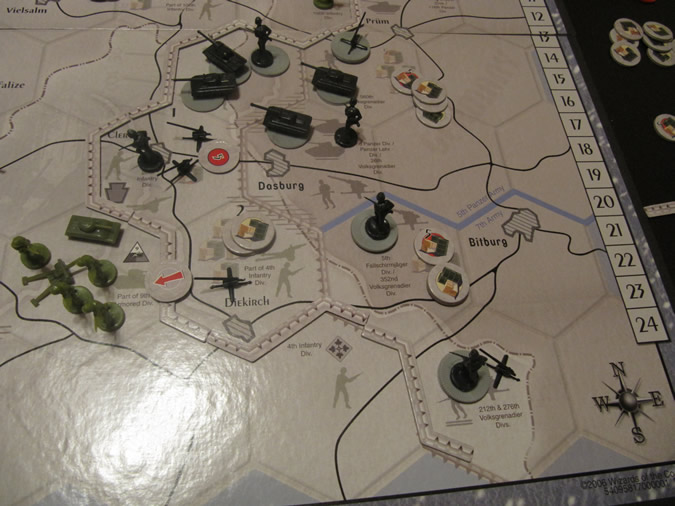 Axis & Allies Battle of the Bulge - Germans