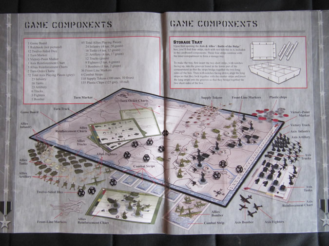 Axis & Allies Battle of the Bulge - Illustrate Map