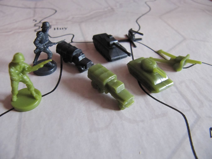 Axis & Allies Battle of the Bulge - Mechanized Infantry
