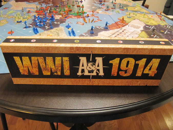 Axis & Allies WWI 1914 - Game Box