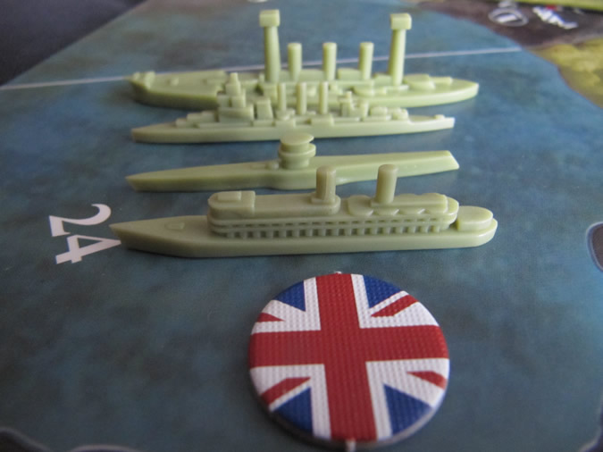 Axis & Allies WWI 1914 - New Navy Styles