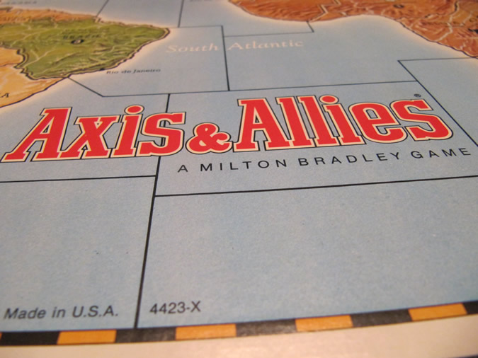 Axis & Allies Board Game