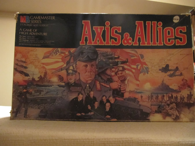 Axis & Allies Game Box