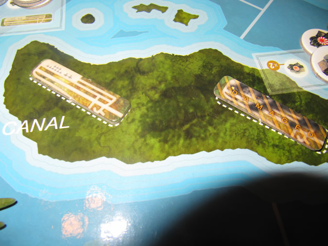 Axis & Allies Guadalcanal: Runways