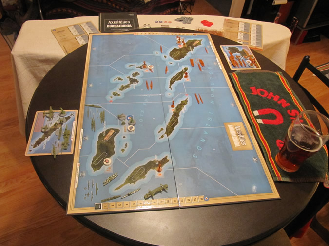 Axis & Allies Guadalcanal: Game Setup