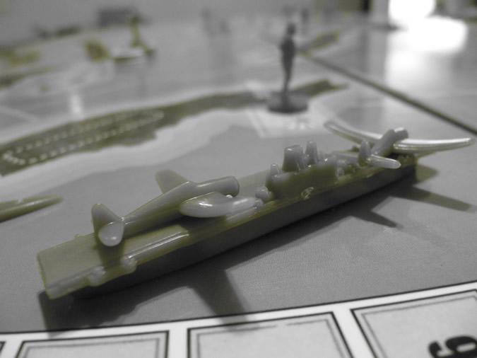 Axis & Allies Guadalcanal: USA Carrier