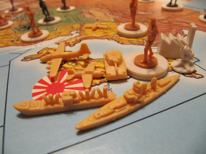 Axis & Allies - Game Pieces
