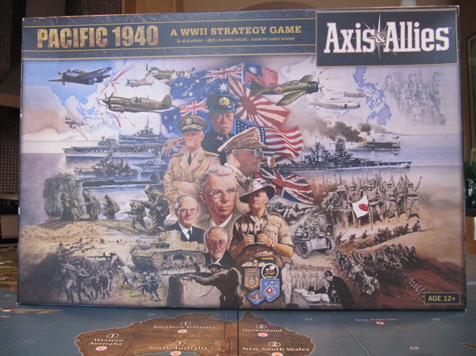 Axis & Allies Pacific 1940 - Box Cover