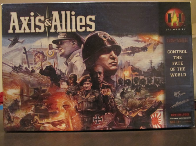 Axis & Allies Revised: Game Box