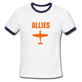 Axis & Allies T-Shirt: Allies Fighter