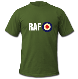 Axis & Allies T-Shirt: Royal Air Force (UK)