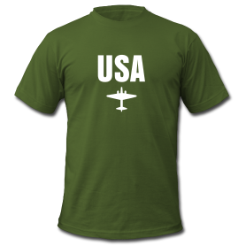 Axis & Allies T-Shirt: USA Fighter