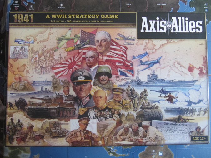 Axis & Allies 1941 - Game box.