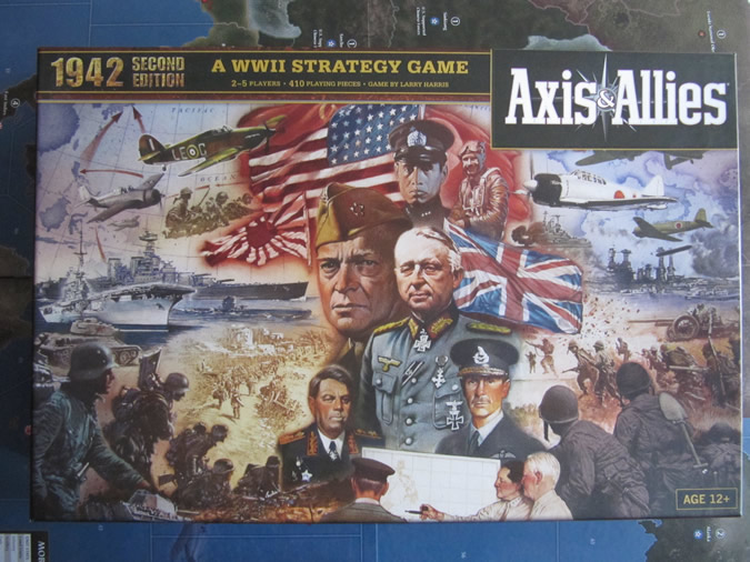 Axis & Allies 1942 - Box