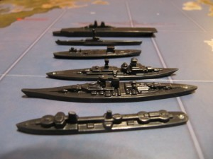 Axis & Allies 1942 - German Fleet.