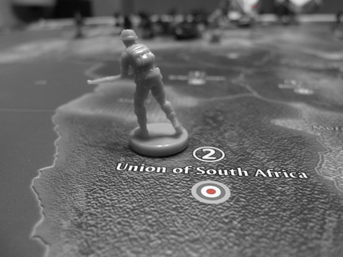 Axis & Allies 1942 - UK Infantry