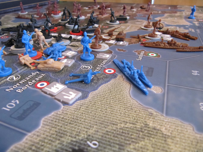 Axis & Allies Europe 1940 - Europe before round one.