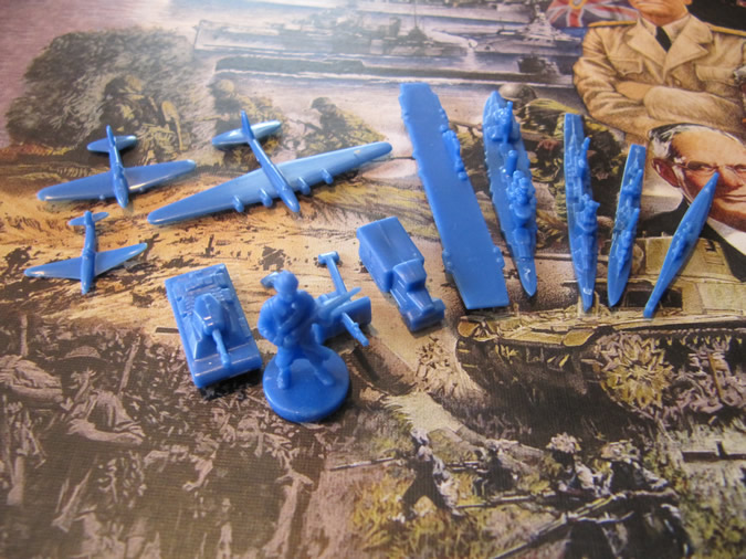 Axis & Allies Europe 1940 - French units.
