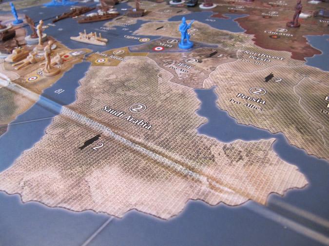 Axis & Allies Europe 1940 - Suez canal.