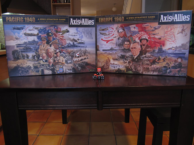 Axis & Allies Global 1940: Combination of Europe 1940 and Pacific 1940