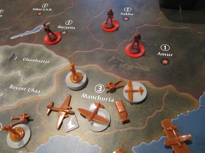 Axis & Allies Global 1940: Soviet Union and Japan